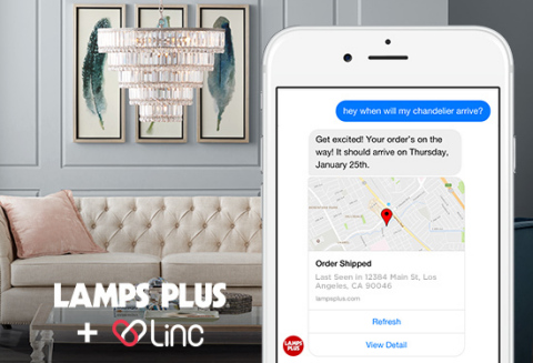 Linc powers automated customer care for Lamps Plus (Photo: Business Wire)