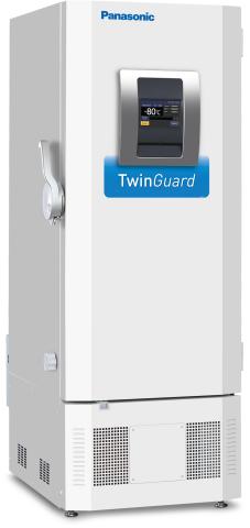 Panasonic Healthcare TwinGuard Model MDF-DU302VX-PA Slim Profile Ultra-Low Temperature Freezer (Photo: Business Wire)