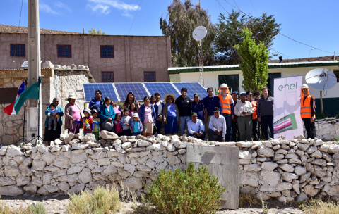 The project includes a total of 111 kWs of solar PV and SimpliPhi Power energy storage systems for Toconce residents who are not connected to the centralized grid. (Photo: Business Wire)