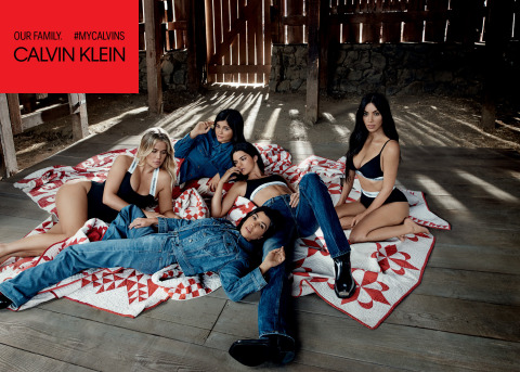 CALVIN KLEIN, INC. ANNOUNCES THE SPRING/SUMMER 2018 Campaign Led by Kim Kardashian West, Khloé Kardashian, Kourtney Kardashian, Kendall Jenner and Kylie Jenner (Photo: Business Wire)