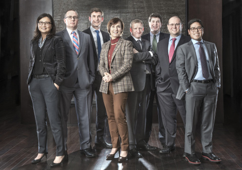 Causeway's investment team (Photo: Business Wire)