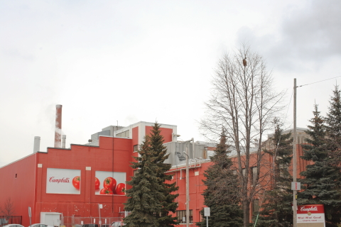 Campbell Soup Company announced plans to close its manufacturing facility in Toronto to improve the  ...