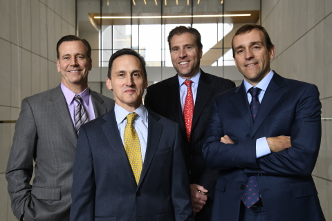 (Left to right) Michael Collins, Robert Tipp, Gregory Peters, and Richard Piccirillo (Photo: Business Wire)