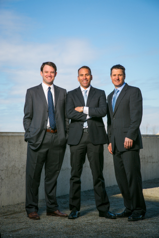From left: Privateer Holdings founders Michael Blue, Christian Groh, and Brendan Kennedy (Photo: Business Wire)