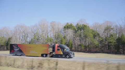 The 3M Transportation Safety Division Roadshow sets out on a North American tour, bringing interactive experiences on road infrastructure technologies and safety (Photo: Business Wire)