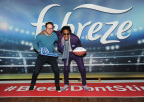 Nick Cannon and Dave, the star of Febreze's new Super Bowl ad campaign and the only man in the world whose #BleepDontStink, get into the Super Bowl spirit at Febreze's pre-game party on January 25 in New York City. The campaign reminds people that Dave and his odorless bleep won't be in attendance at their Super Bowl parties and encourages them to prepare for game time by purchasing Febreze. To find out more about the man whose #BleepDontStink, please visit www.youtube.com/febreze (Photo by Diane Bondareff/Invision for Febreze/AP Images)