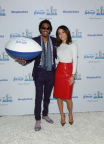 Bethenny Frankel and Nick Cannon debut Febreze's new Super Bowl ad campaign on Thursday, January 25, in New York. This year, Febreze will introduce the world to the only man whose #BleepDontStink - a fecal anomaly named Dave. The campaign reminds people that Dave and his odorless bleep won't be in attendance at their Super Bowl parties and encourages them to prepare for game time by purchasing Febreze. To find out more about the man whose #BleepDontStink, please visit www.youtube.com/febreze (Photo by Diane Bondareff/Invision for Febreze/AP Images)