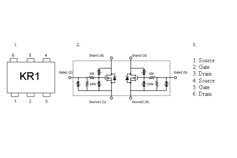 Toshiba Electronic Devices & Storage Corp.: Equivalent Circuits (Graphic: Business Wire)