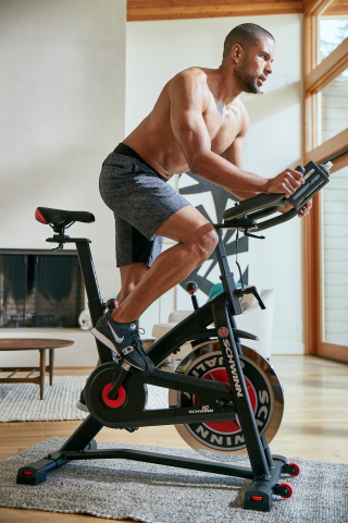 The Schwinn® IC7 indoor cycling bike provides a low-impact, high-energy workout, combining smooth performance with signature Schwinn quality and value. (Photo: Business Wire)