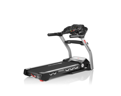 The Bowflex® BXT326 treadmill motivates users while burning calories, and features 11 pre-programmed workouts, the innovative Burn Rate console displaying the number of calories burned each minute, and is compatible with the RunSocial® app. (Photo: Business Wire)
