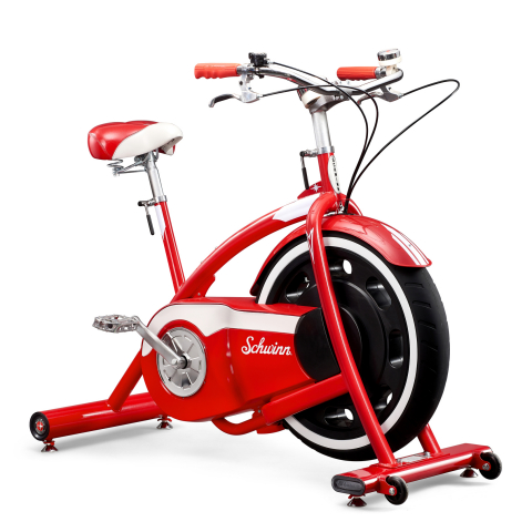The Schwinn® Classic Cruiser™ combines fun and fitness for an effective 20-minute workout in a retro-style inspired design; it features Bluetooth® connectivity, a USB port and compatibility with Zwift™ and RideSocial™ apps. (Photo: Business Wire)