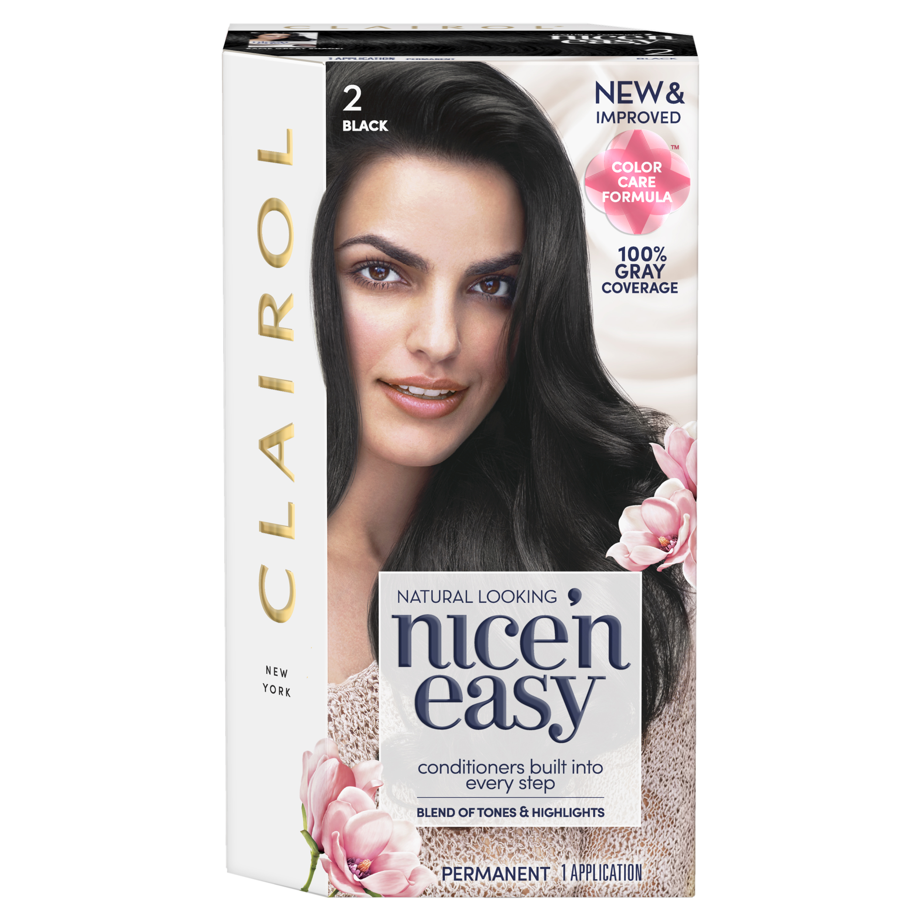 Clairol Launches New Nicen Easy Color Care Hair Color With No