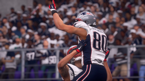 New England Patriots Claim Back-to-Back Championships in EA SPORTS Madden NFL 18 Super Bowl Prediction (Graphic: Business Wire)