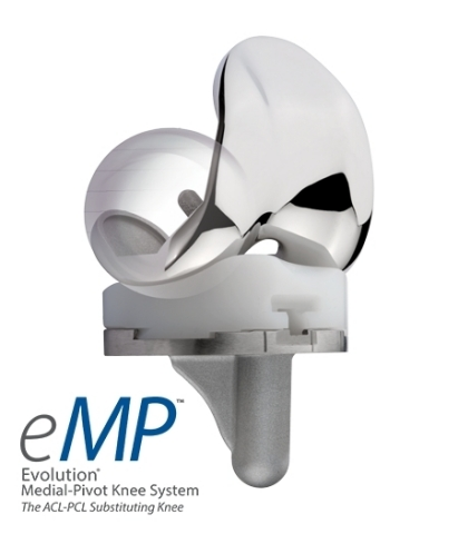 MicroPort Orthopedics' Evolution® Medial-Pivot (MP) Knee System (Photo: Business Wire)