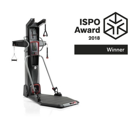 The Bowflex® HVT® machine earns an ISPO Award in the Health & Fitness category. (Photo: Business Wire)