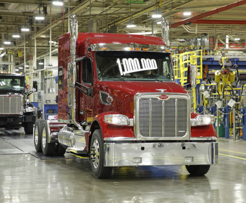 Peterbilt Produces its 1,000,000th Truck (Photo: Business Wire)