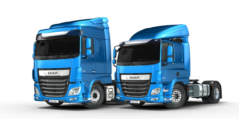 DAF XF and CF - International Truck of the Year 2018 (Photo: Business Wire)