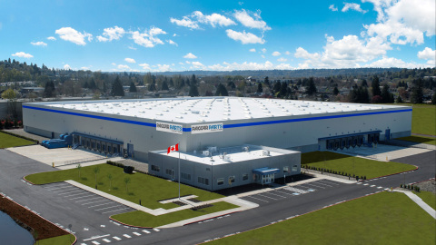 PACCAR Parts' Distribution Center in Toronto, Canada (Architectural Rendering) (Photo: Business Wire)