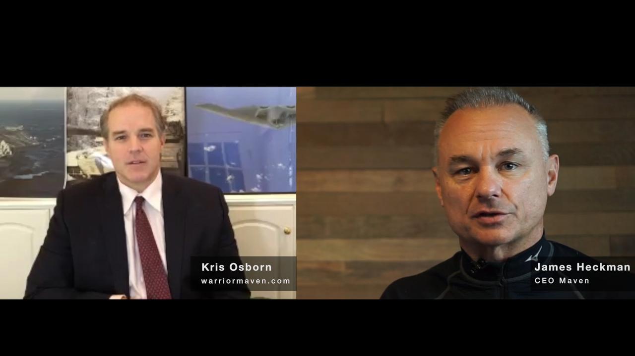 Kris Osborn of WarriorMaven.com talks with Maven CEO James Heckman.