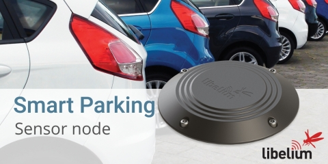 Smart Parking Sensor Node Libelium (Photo: Libelium)