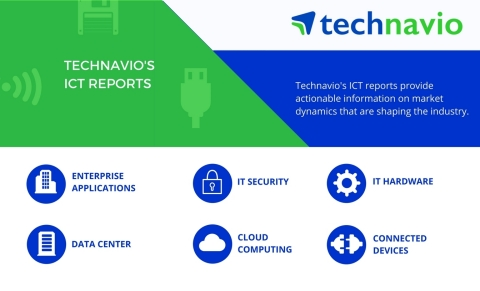 Technavio has published a new market research report on the global cellular M2M module market 2018-2022 under their ICT library. (Graphic: Business Wire)