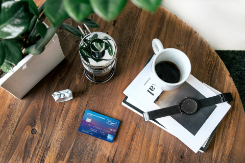 Hilton and American Express celebrate the launch of the upgraded Hilton Honors American Express co-branded credit card portfolio with special bonus offers (Photo: Business Wire)