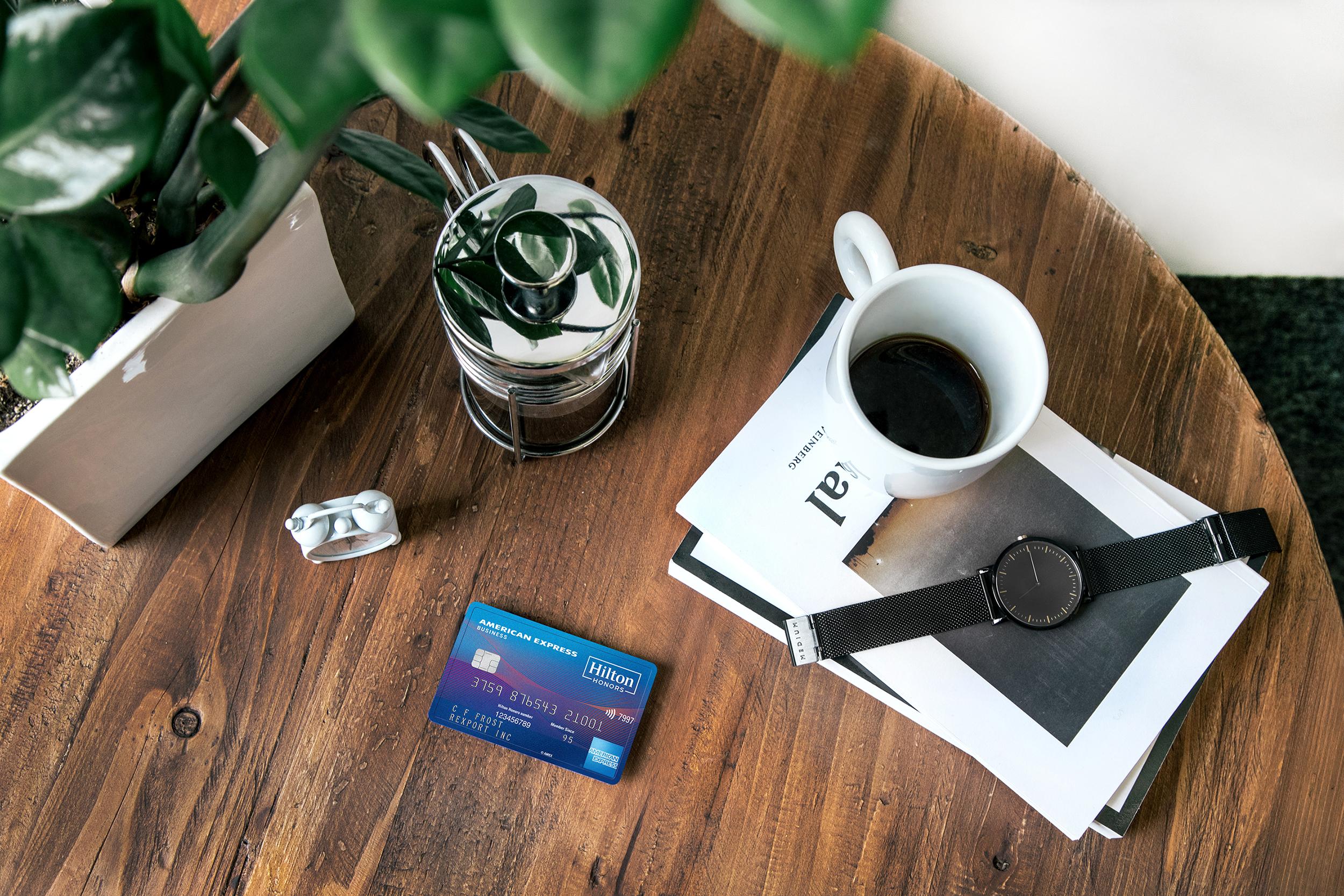 12 Unique Hilton Credit Card - Card Pic