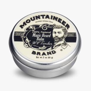 """Four of Mountaineer Brand's most popular beard care products, including its """"WV Timber Beard Balm,"""" are now available in-stores at over 3,500 Walmart locations nationwide. (Photo: Business Wire)"""