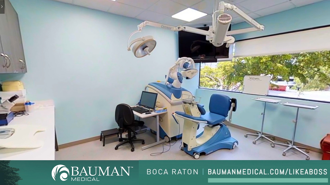 The Bauman Medical Hair Transplant and Hair Loss Treatment Center is a nearly 12,000 sqft facility dedicated exclusively to hair health, scalp health and hair restoration. Medical Director and CEO Dr. Alan J. Bauman, MD, ABHRS is a full-time board-certified Hair Restoration Physician who has dedicated his career to helping people struggling with hair loss effectively achieve their hair restoration goals. His new concierge program, the Executive Hair Restoration Experience℠ allows professionals to enjoy the life-changing artistry and technology of state-of-the-art hair restoration while relaxing and recovering in one of the world's most luxurious destination locations: Boca Raton, Florida. For more information on the Executive Hair Restoration Experience℠, as seen in Forbes and The CEO Forum, please visit http://www.HairLikeABoss.com