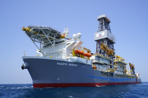 The Ballymore well was drilled by Pacific Drilling's Sharav deepwater drillship (Photo: Business Wir ...