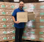 Vericool Founder and CEO Darrell Jobe with a Vericooler III customized for Raised Real. The Vericooler III is the only cost-effective, environmentally-friendly and high-performing thermal packaging solution on the market today.