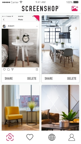 Decorating Your Home Has Never Been Easier With ScreenShop's New Furniture Feature (Photo: Business Wire)