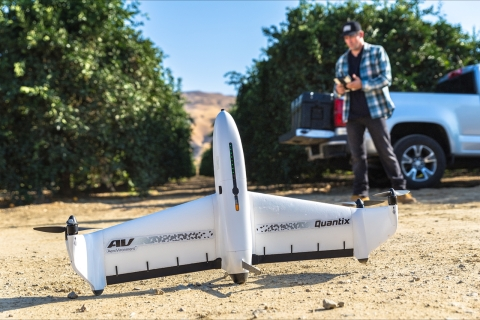 AeroVironment Quantix Hybrid Drone and AV Decision Support System now available for purchase (Photo: ...