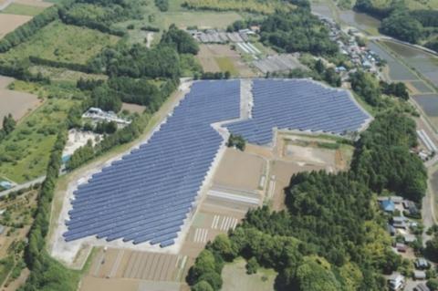 Kasuga Capital Ikazuchi East Solar Plant/Kasuga Capital Ikazuchi West Solar Plant (Photo: Business Wire)