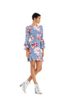 The JILL Jill Stuart collection, created for Macy's, features the feminine romanticism meets downtown edge aesthetic Jill Stuart's eponymous line is renowned for. Bell sleeve ruffle hem dress, $149, available in select Macy's stores and on macys.com. (Photo: Business Wire)