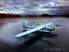 The Phoenix TerraHawk CW-20 is the first VTOL/fixed-wing UAV LiDAR system on the market, and features a Velodyne HDL-32E LiDAR sensor with other Phoenix hardware. (Photo: Business Wire)