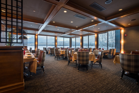 The Narrows Steakhouse at Shore Lodge (Photo: Business Wire)