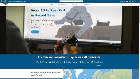 Dassault Systèmes' 3DEXPERIENCE Marketplace (Photo: Dassault Systèmes)