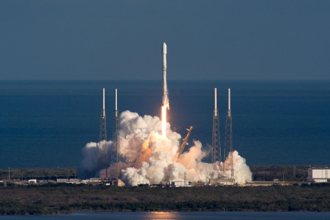 GovSat-1 Successfully Launched on SpaceX Falcon 9 Rocket (Photo: SpaceX)