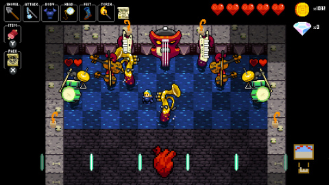 Crypt of the NecroDancer is an award-winning, hardcore rhythm-based dungeon crawling game. (Photo: Business Wire)