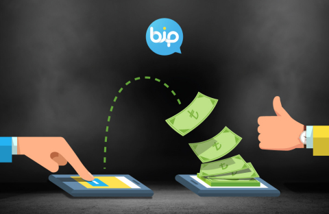 BiP, as a digital communication and life platform now allows it's users to transfer money as quickly ...