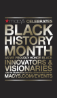 Macy's celebrates innovators and visionaries during Black History Month. (Graphic: Business Wire)