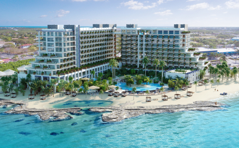 Grand Hyatt Grand Cayman Hotel & Residences will be located on a premium 7.1-acre site on Seven Mile ...