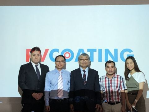 (From left) Mr. Tamotsu Somiya, Mr. Le Hong Hai, Mr. Tadashi Watanabe, Mr. Huynh Kim Dao, Ms. Miharu ...