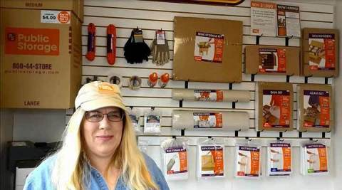A Public Storage employee in New Hope, Minnesota, showed how the right storage supplies can truly or ...
