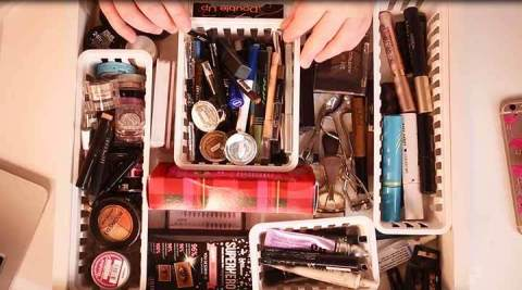 A makeup maven and YouTuber from Tennessee took home the $2,500 prize in Public Storage's Organization Transformation Video Contest. The fan favorite video, which showed how spending just $1 on storage baskets can improve a cluttered drawer, got 1,309 views by the time voting ended February 1! (Photo: Business Wire)