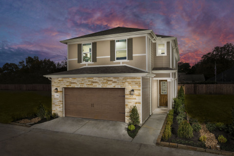 Models are now open at KB Home's Villas at Spring Shadows in Houston. (Photo: Business Wire)