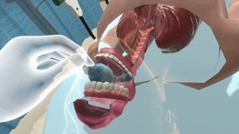 Visual from Award Winning VR Airway Lab (Graphic: Business Wire)
