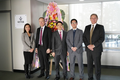 During Vetter's customer event in the new branch office: Jong Hyun Kim, Director Supply Chain Manage ...