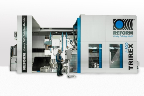 TRIREX Universal Rotary Table - Grinding Machine (Photo: Business Wire)